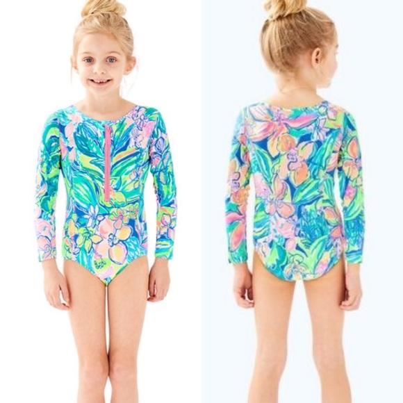1a346168be8f9 Lilly Pulitzer Swim | Nwt Girls Alaina Suit Size M | Poshmark